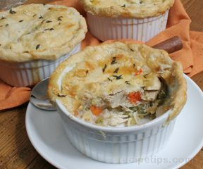 Old Fashioned Chicken Pot Pie Recipe