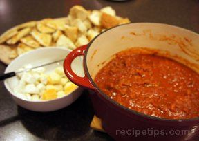Pizza Fondue 4 Recipe