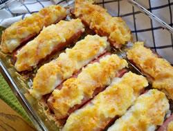potato stuffed hot dogs Recipe