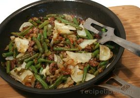 Quick Ground Beef and Vegetable Skillet