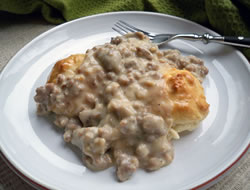 Senior Center Sausage Gravy