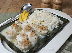 Almond Crusted Scallops Recipe