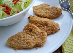 breaded baked fish Recipe