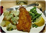 Fish in a Corn Crust Recipe