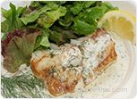 Fish Fillets in Creamy Dill Sauce Recipe