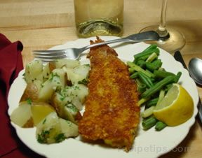 Fish in a Corn Crust