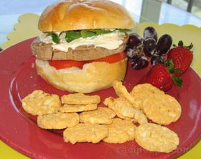 fresh tuna sandwich Recipe