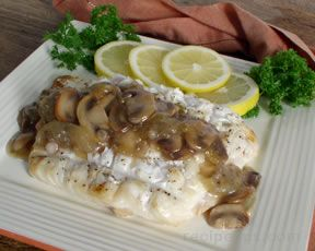 Grilled Halibut with Wine and Pear Dressing
