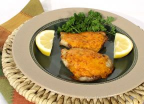 Cheese Crusted Grouper Recipe