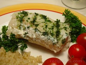 Herbed Cod in White Wine