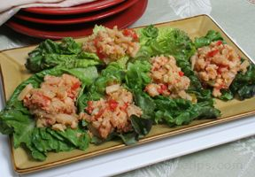 lime shrimp lettuce wraps Recipe