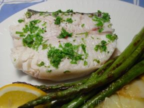 Microwave Poached Fish