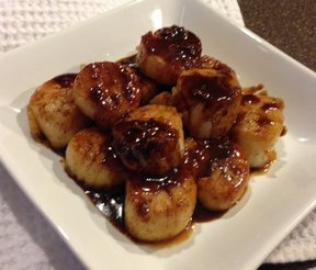 Orange Glazed Scallops