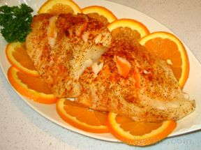 Oven Baked Orange RoughynbspRecipe