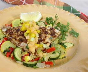 Grilled Snapper Fillets