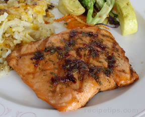 Salmon on the GrillnbspRecipe