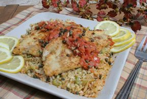 Sautéed Trout with Tomato Caper Sauce Recipe