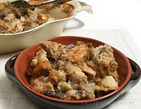 Shrimp and Chicken Au Gratin