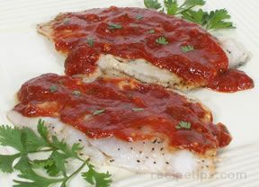 Tilapia in Tomato Sauce Recipe