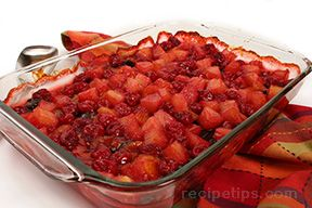 Hot Fruit Compote Recipe