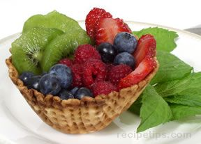 Fruit Pastry Cup Recipe