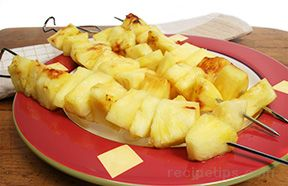 grilled tequila pineapple Recipe