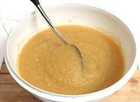 Sweetened Homemade Applesauce