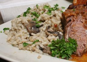Mushroom and Onion Risotto Recipe