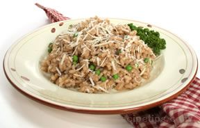 Risotto with Peas Recipe