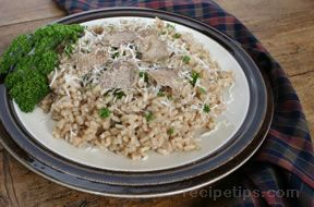 Risotto with Shaved Truffles