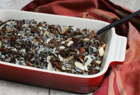 Wild Rice with Dried Cherries Recipe