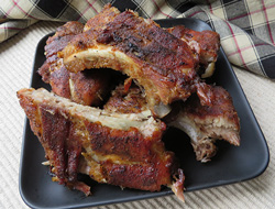 baby back ribs and rib rub Recipe
