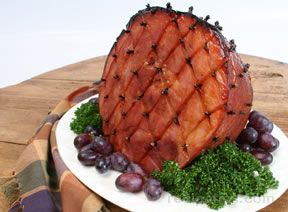 Honey Baked Ham with Cloves Recipe
