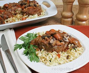 fillet of beef bourguignon Recipe