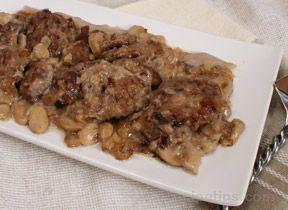 Pork Cutlets in Mushroom Sauce