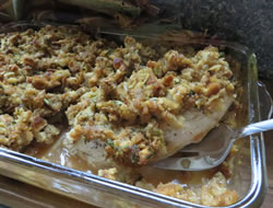 Easy Pork Chops and Stuffing Recipe