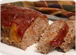 Cheesy Mushroom Meatloaf Recipe