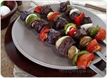 Beef Kebabs on the Grill Recipe