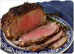 Top Loin Beef Roast with a Mustard Paste Recipe