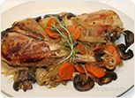 Slow Cooker Turkey Legs with Vegetables Recipe