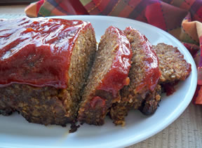 Glazed Mexican Meatloaf