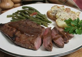 Grilled Marinated Sirloin Steak