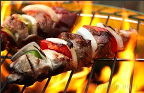 grilled beef kebabs Recipe