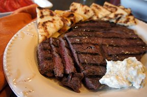 Grilled Greek SteaknbspRecipe