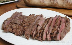 grilled marinated flank steak Recipe