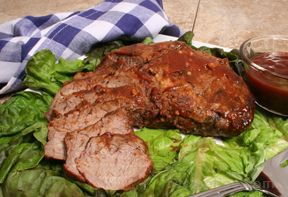 Grilled Tri-Tip Roast