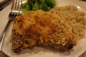 Italian Breaded Pork Chops with Parmesan