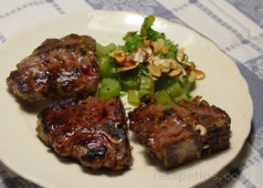 Pan Broiled Lamb Chops