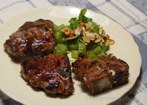 Pan Broiled Lamb Chops
