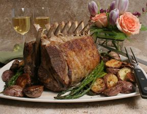 roasted rack of lamb Recipe